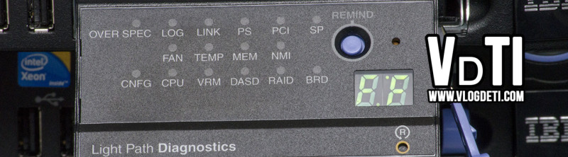IBM Light Path Diagnostics Display