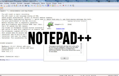IDE Notepad++